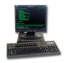 twinax system console terminals